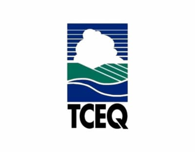 TCEQ logo, Texas Committee on Environmental Quality