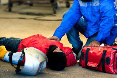 Factory floor injury